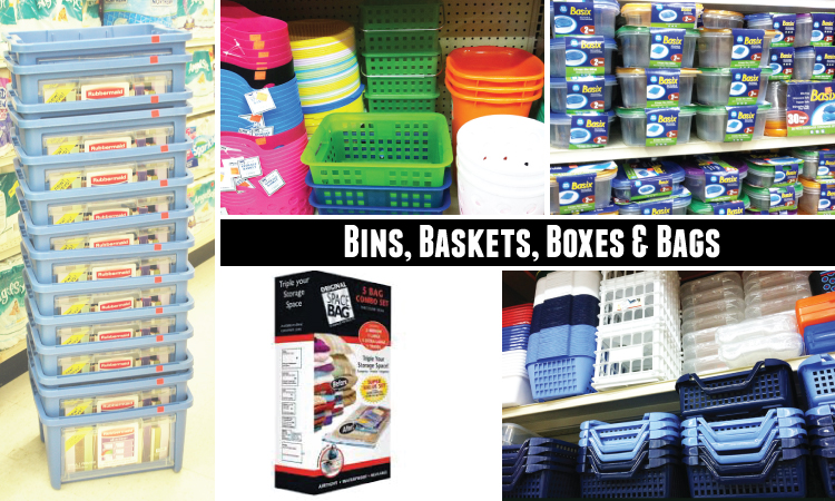 BinsBasketsBoxesBags