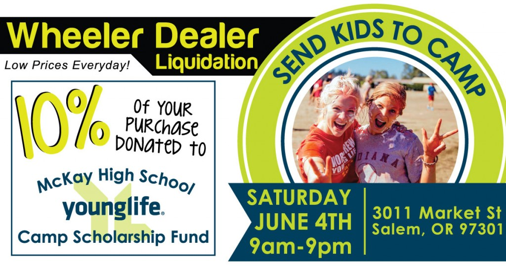 Fundraiser for McKay High Young Life